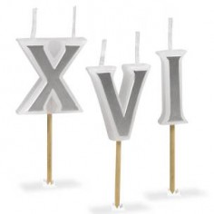 Roman Numeral Candles