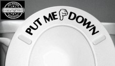 Put Me Down Sticker