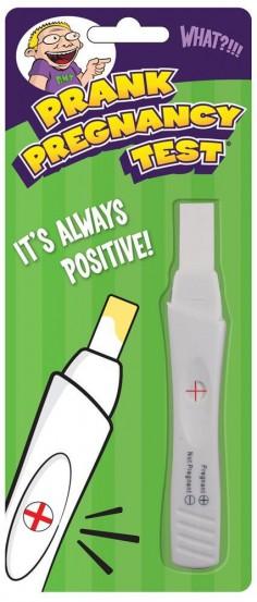 Fake Pregnancy Test