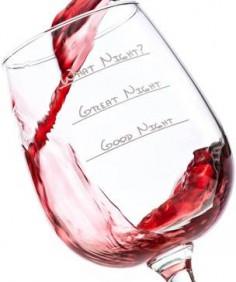 What night? Wine glass