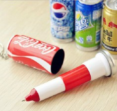 Soft Drink Can Pens