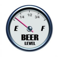 Beer Level Sticker