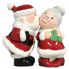 Mr and Mrs Clause Shakers