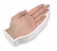Talk to the Hand Notepad