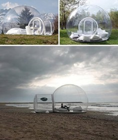 Inflatable Bubble House