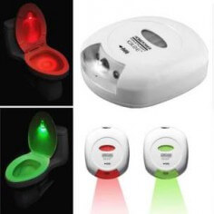 LED SENSOR MOTION ACTIVATED TOILET NIGHTLIGHT