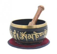 TIBETAN PEACE SINGING BOWL WITH MALLET