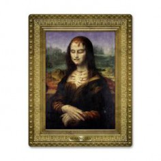 THE PAINTING OF MOANING LISA