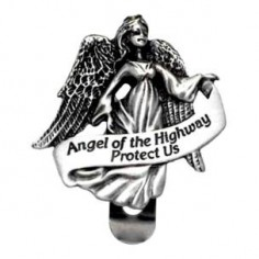 Auto Visor Clip Angel of The Highway