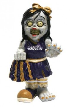 NFL ZOMBIE CHEERLEADER FIGURINE