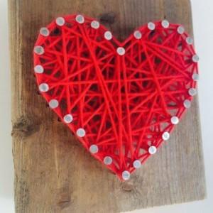 Handmade Heart Blocks for her on Easter