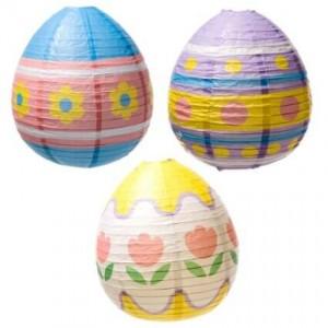 Easter Egg Lanterns for Home Decor