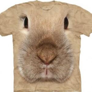 The Mountain Bunny Face T-shirt for little Boys