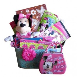 Minnie Mouse Easter Gift Baskets for Girls