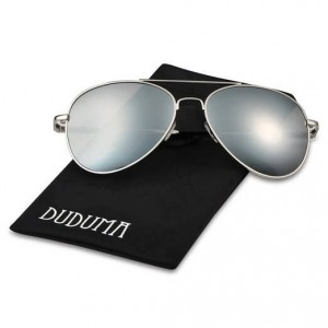 Duduma Premium Full Mirrored Aviator Sunglasses
