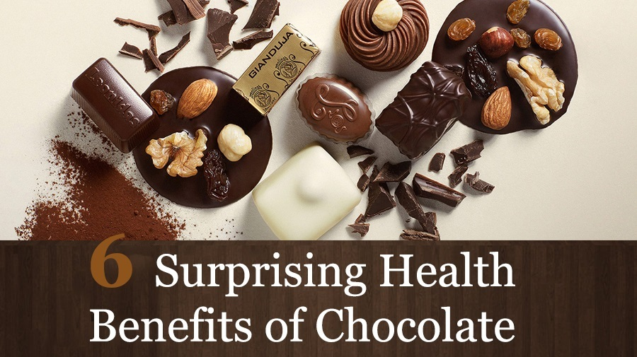 6 Surprising Chocolate Health Benefits That Will Amaze You – Infographic
